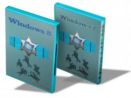Windows 7 SP1 & 8.1 Pro VL x86 x64 Plus PE WPI StartSoft 20