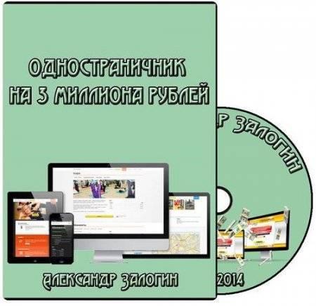 Одностраничник на 3 миллиона рублей (2014) Видеокурс