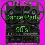 DJ D.V.A. — Dance Party 90\'s! (2014)