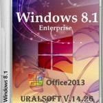 Windows 8.1 x86/x64 Enterprise & Office2013 UralSOFT v.14.26 (2014/RUS)