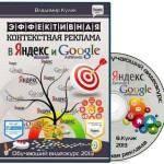 Эффективная контекстная реклама в Яндекс. Директ и Google AdWords. Видеокурс (2013) (2013)