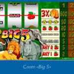 Слот «Big 5» в казино Вулкан 24